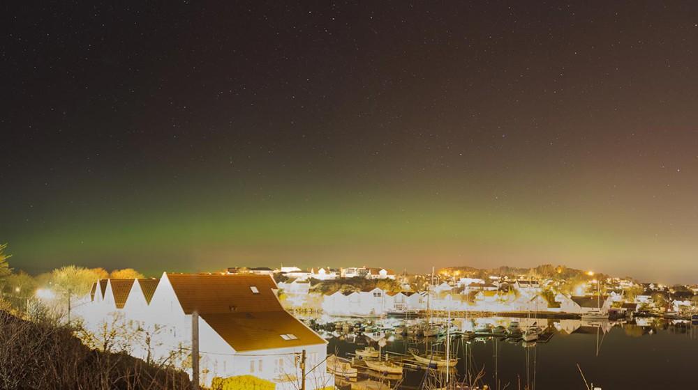 Nordlys. Foto: Atle Havnerås
